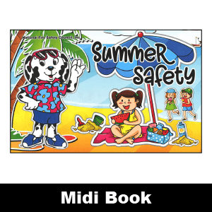 279F: Summer Safety Midi Book