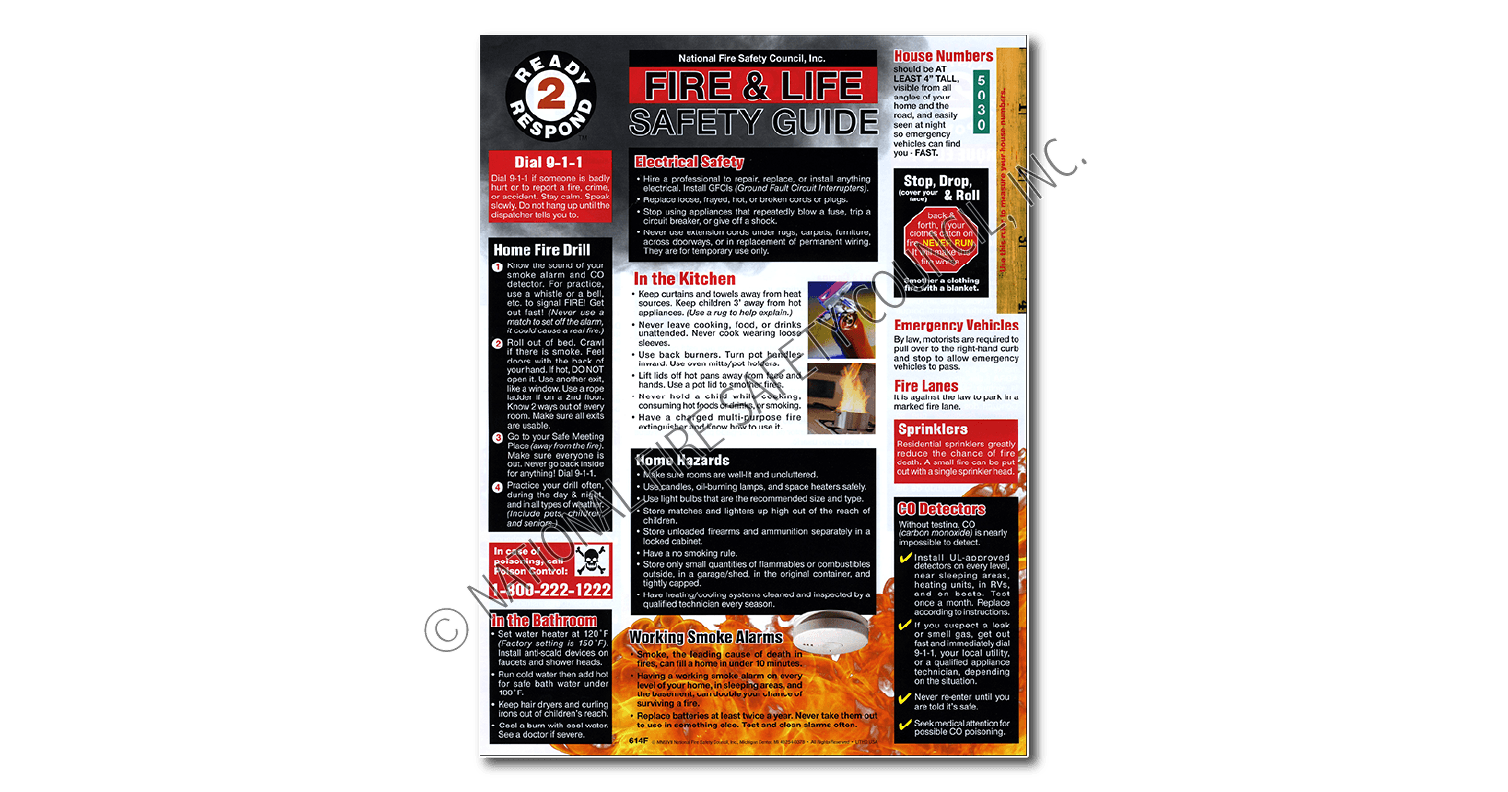 614F: Ready 2 Respond Fire & Life Safety Guide